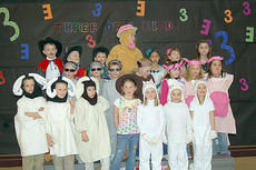"""<div class=""""source"""">Photo submitted</div><div class=""""image-desc"""">West Marion Elementary first grade students in Mrs. Burdette's class performed the musical """"Three of a Kind"""". They performed for the school and for parents. They also took their show on the road and did a performance for The Loretto Motherhouse and The Village of Lebanon. </div><div class=""""buy-pic""""></div>"""