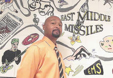 """<div class=""""source"""">Photo by Duanne B. Puckett/Shelby County Public Schools</div><div class=""""image-desc"""">Myron Montgomery started his teaching career in Shelby County and now said he hopes he can be a positive influence at East Middle School.</div><div class=""""buy-pic""""></div>"""