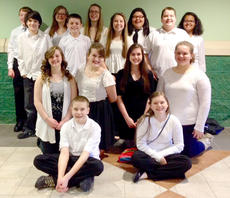 "<div class=""source"">Photo submitted</div><div class=""image-desc"">Pictured are the members of the all district band. They are, first row from left, Jackson Martin and Alivea Peake; second row from left, Alyssa Thomas, Emma Humphress, Audrey Hague and Breanna Meeks; third row from left, Cody Abell, Trevor Mattingly, Isabella Glasscock, Trevor Mudd and fourth row from left, Gavin Hasty, Mahayla Gallagher, Olivia Ford, Autumn Smith and Amber Pollock.</div><div class=""buy-pic""></div>"