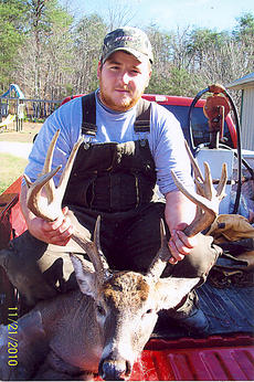 "<div class=""source"">submitted</div><div class=""image-desc"">Aaron Bright bagged this 14-point buck in the Bradfordsville area recently.</div><div class=""buy-pic""></div>"