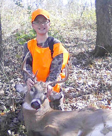 """<div class=""""source"""">Photo submitted</div><div class=""""image-desc"""">Samuel Spalding bagged this 7 point buck in Shelbyville during gun season. </div><div class=""""buy-pic""""></div>"""
