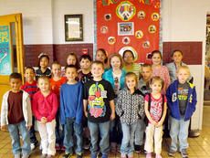 """<div class=""""source"""">Photo submitted</div><div class=""""image-desc"""">Lebanon Elementary October STARS (Students That Are Radically Sensational) are front row, from left, Jaiden Newby, Madelyn Spalding, Tim Hardin, Spencer Smith, Kendra Gaddie, Gabby Morgeson, and Jacob Million; second row, Chanse Smith, Brooklyn Gaddie, Nicholas Smothers, Abby Sullivan, and Landon Record; third row, Judith Sanchez,Kayla Garrett, Hannah Gaither, Angelita Morales, Lily Thompson, and Christiana Quintana. </div><div class=""""buy-pic""""></div>"""