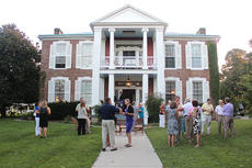 """<div class=""""source"""">Photos submitted</div><div class=""""image-desc"""">Friends and benefactors of St. Catharine College congregated on the lawn of Myrtledene in Lebanon on Sept. 3 during the Marion County Circle of Friends event. In an effort to forever honor Terry Ward, St. Catharine College is currently working to have the Hundley Library Information Desk named in honor and in memory of him. The Marion County Circle of Friends event, which was held at Myrtledene Sept. 3, helped raise funds toward this effort. If you would still like to make a pledge or donation, contact Molly Smith at 859-336-7707 or James Spragens at 270-692-2223. </div><div class=""""buy-pic""""></div>"""