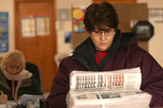 """<div class=""""source"""">Stephen Lega</div><div class=""""image-desc"""">Working in a winter coat and gloves, Bradfordsville Postmaster Ann Metcalf looks over bundles of the Jan. 28 issue of The Lebanon Enterprise, which finally arrived at the post office Thursday morning. Debbie Richardson, postmaster relief, works at a desk </div><div class=""""buy-pic""""><a href=""""http://web2.lcni5.com/cgi-bin/c2newbuyphoto.cgi?pub=015&orig=web-bville-post%2Boffice.jpg"""" target=""""_new"""">Buy this photo</a></div>"""