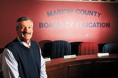 """<div class=""""source"""">Stevie L. Daugherty</div><div class=""""image-desc"""">Marion County Superintendent Roger Marcum, who is resigning at the end of the 2008-09 academic year, was recognized for his years of service in the community.</div><div class=""""buy-pic""""><a href=""""/photo_select/6770"""">Buy this photo</a></div>"""