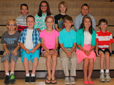 """<div class=""""source"""">Photo submitted</div><div class=""""image-desc"""">These students were distinguished in all areas of the K-PREP assessment. They were recognized at the annual award's ceremony at West Marion Elementary on June 3. They are Cameron Shewmaker, Eli Durham, Jasmine Farmer, Landon Cambron, Sarah Hamilton, Zachary Essex, Samuel Thompson, Amber Farris, Gabriel Perry and Brice Pirkle.</div><div class=""""buy-pic""""></div>"""