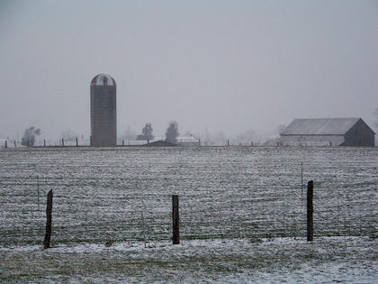 Pictured is a view of J.C. and Suzie Detherage's farm.
