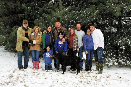 Pictured is the Mattingly family, from left, Bobby and Beverly Mattingly, Nicole and Greg Huff with sons Jaxon and Cameron, Mignon and Ryan Carter and Sarah and Derrick Brussell.