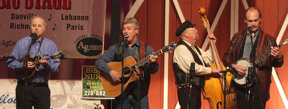 Dix River Crossing performs Friday night at the Kentucky Bluegrass Music Kickoff.