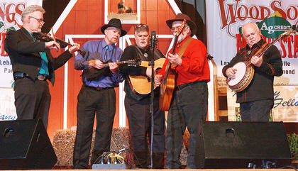 Marion County's own Honeysuckle String Band takes the stage Friday night.