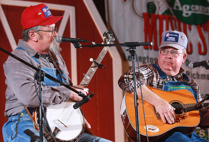 The Moron Brothers, Lardo and Burley, returned this year to present their brand of music and humor.