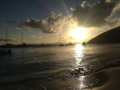 Jerry Fowler Jr., took this photo at White Bay on Jost Van Dyke in the British Virgin Islands.