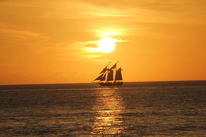 June Sooter took this photo of a sunset in December of 2012 in Key West, Fla.