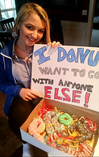 Cameron Wethington used some sugary goodness to ask Avery Stiles to the prom.