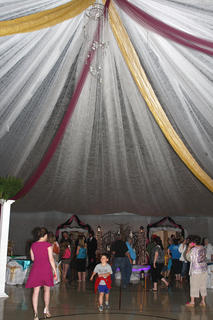 The public was allowed to come into Centre Square to see the prom decorations before the event began Saturday evening.
