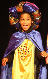 LaQuan Williams plays the part of King Hubert.