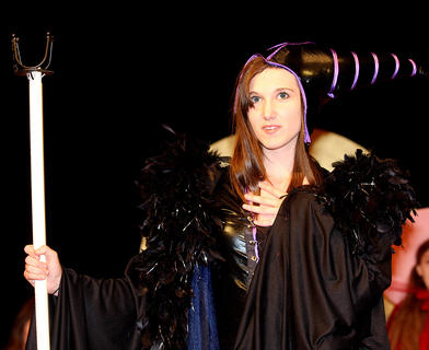 Presley Wilson plays the evil Maleficent.