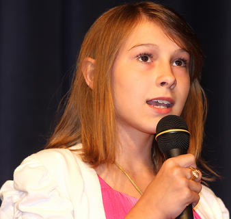 Haley Ruley, 13, sings &quot;House That Built Me&quot; by Maranda Lambert.