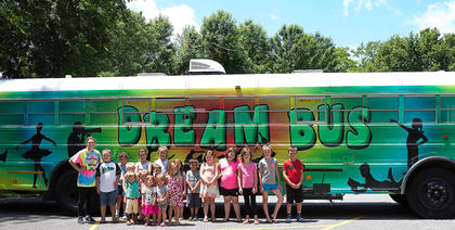 The Dream Bus made its first stops last week. The theme is summer of science. Students made slime utilizing chemical reactions. On Wednesday the Dream Bus stopped in Bradfordsville.
