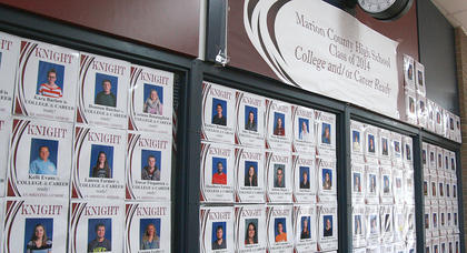 Marion County High School recognized its graduates who met the requirements for college and career readiness.