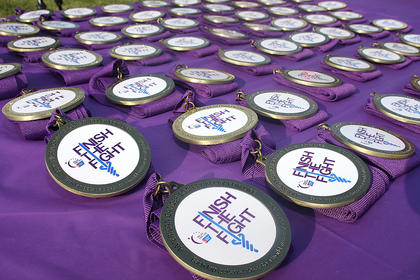 This year marked Marion County's 18th Relay for Life event. There were 16 teams represented, and more than $56,000 has been raised, so far, for the American Cancer Society. Relay for Life Co-Chair Lisa Sandusky said money is still coming in, and she expects the total to near $60,000. The employees of TGKY in Lebanon gave this year's fundraising a big boost with a $15,000 donation. The following teams won awards: TGKY won top corporate fundraising team, 12 Kids for a Cure won top fundraising team and best decorated camp site and the Buckman Family & Friends team won an award for having the most team spirit.