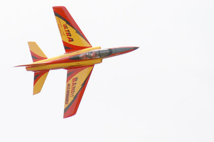 Several pilots demonstrated aerobatic skills during the weekend.