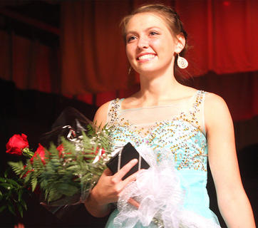 Rachel Gootee was named the 2015 Distinguished Young Woman.