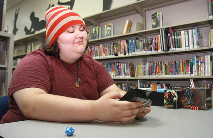 Sam Morris taught people how to play Magic: The Gathering.