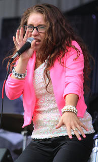 Layla Cambron, also known as Layla Spring, won the Hammin' It Up Idol competition Saturday evening.