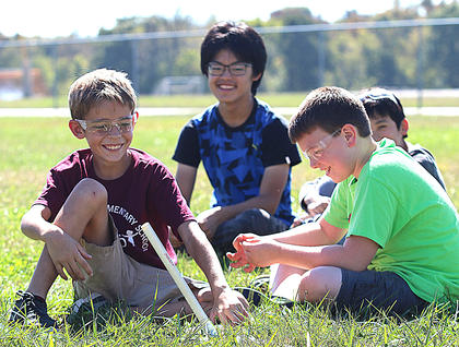Aiden Bickett, Carson Osborne, Ichimura Kazuki and Goto Masaharu are proof that science can be so much fun.