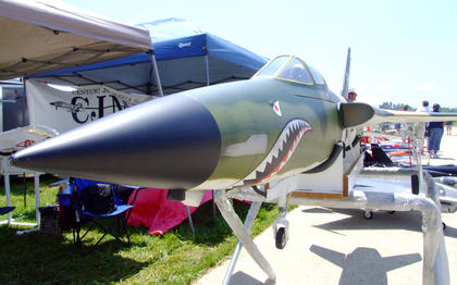 Jets Over Kentucky model jet show returned to the Lebanon-Springfield Airport July 7-10.