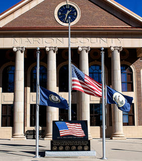 Gov. Steve Beshear directed that state flags at all state office buildings be lowered to half-staff on Saturday, Nov. 17, in honor of Marion County Sheriffs Deputy Anthony Rakes, who died after being shot during a traffic stop in Marion County.