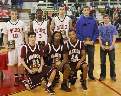 John Southall, Carlos Litsey, and Latrelle Irvin were selected to the all-district season team