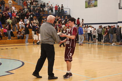 John Southall was selected to the boys regional all-tournament team