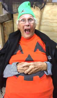 Marie Miles is the human version of a Jack O' Lantern.
