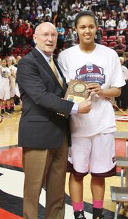 Senior Kyvin Goodin-Rogers was selected to the 2013 Sweet 16 All-Tournament Team.