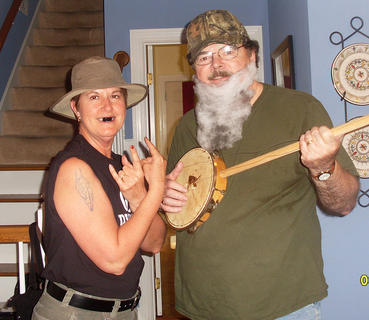 Janet Johnson as Turtleman and Kenn Johnson as Neal James.