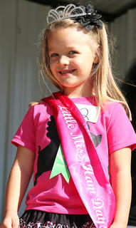 ovie Bell is winner of the Little Miss Ham Days competition. She is the 4-year-old daughter of Jamie Bell and Chad Gribbins.