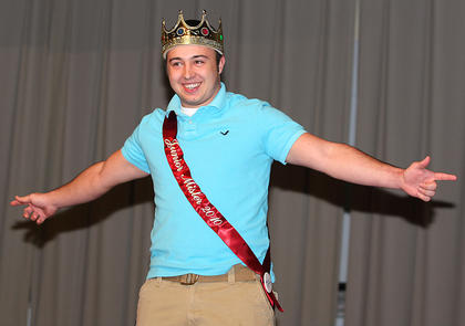 Evan Childers, the 2010 Junior Mister, returns to help introduce the 2011 participants.
