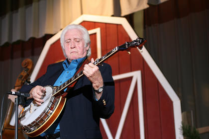 J.D. Crowe was the headliner at the 2010 Kentucky Bluegrass Music Kickoff.
