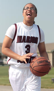 Makayla Epps is the 2011 Female Athlete of the Year and the girls basketball player of the year.