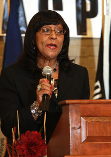 Lynn Wingard served as the mistress of ceremonies during the event.