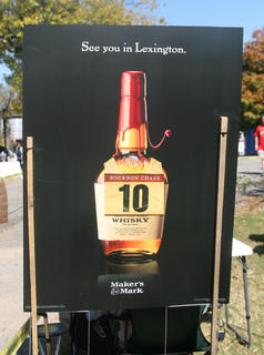 The Maker's Mark staff let the runners know this would not be the last time they would meet on the race course.