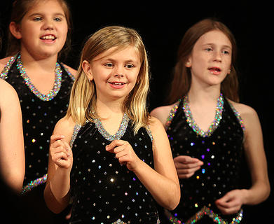 Members of the Centre Square Youth Choir perform.