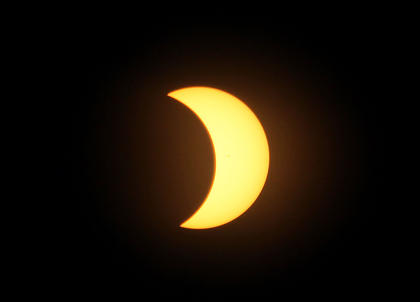 Jeff Moreland, publisher of The Central Kentucky News Journal, captured several images of the eclipse.