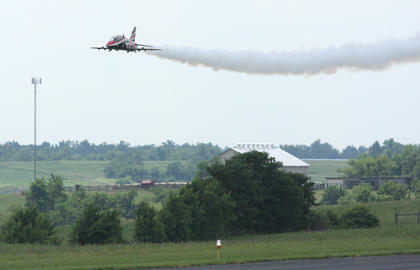 An estimated 130 pilots brought 214 model jets to the 2010 edition of Jets Over Kentucky, which was held at the Lebanon-Springfield Airport.