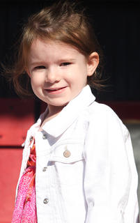 Participant No. 3, Addison Rose Garrett, is the daughter of Doodle and Stacey Garrett.