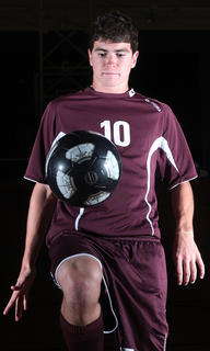 John Southall is the male soccer player of the year.