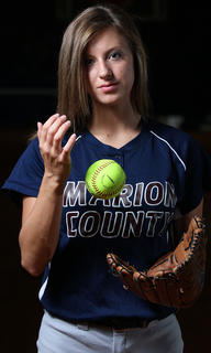 Allison Mattingly is the softball player of the year.