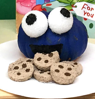 Amanda Whitlock and Laura Bell's St. Augustine 3-year-old preschool class made pumpkin characters from their favorite storybook for their October family project.